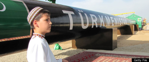 Turkmen Boy Gas Pipeline