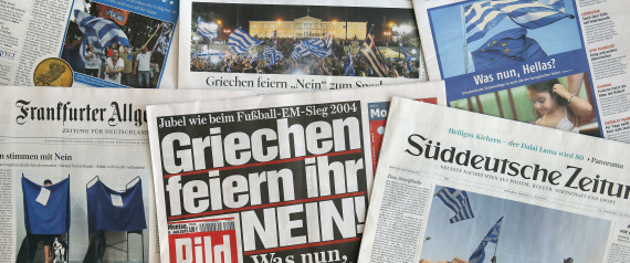 GERMAN NEWSPAPERS