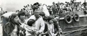 Vietnam Refugee Boat