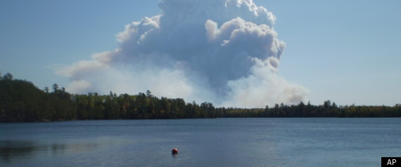 BOUNDARY WATERS WILDFIRE
