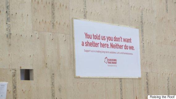 homeless shelter leaside