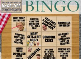 GBBO Final Bingo (Or Drinking Game, If You Fancy It)