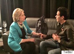 Las celebridades prefieren a Hillary Clinton