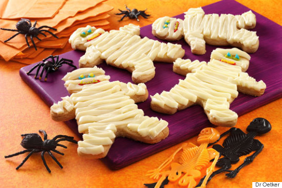 Scary Mummy Cookie Recipe For Halloween