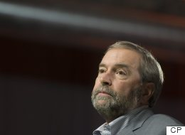 The Niqab 'Hurt Us Terribly' During Election: Mulcair