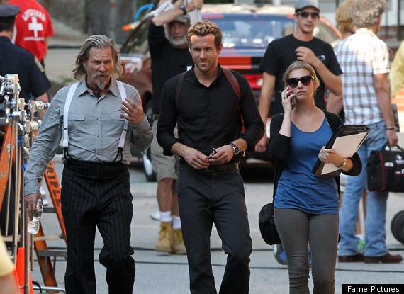 Ryan Reynolds, Jeff Bridges In 'RIPD' Set Pics (PHOTOS)