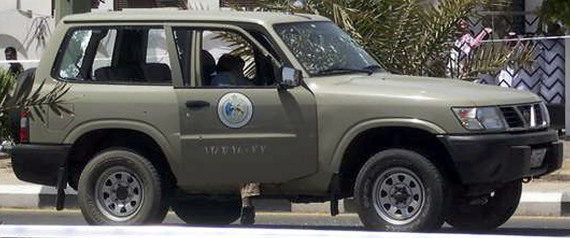 SAUDI POLICE VEHICLE