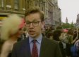A Young Michael Gove Reports At London Gay Pride In 1993