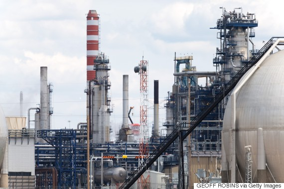 alberta oil refinery