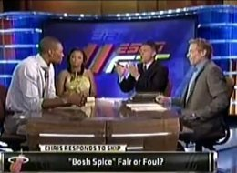 Chris Bosh Skip Bayless. Chris Bosh went face to face with one of his ...