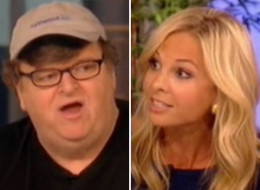 Michael Moore The View