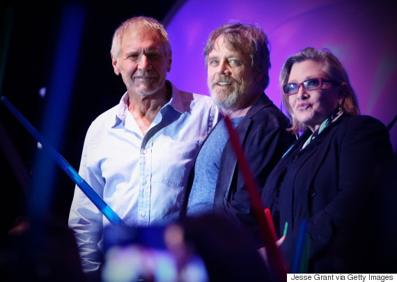carrie fisher harrison ford