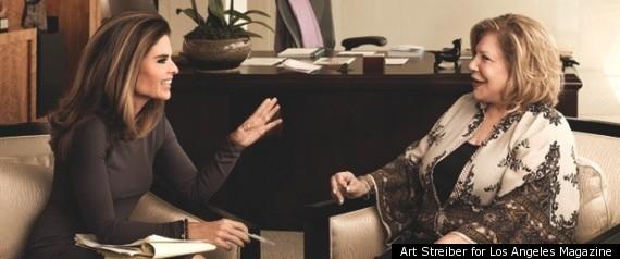 SHRIVER ANNENBERG INTERVIEW