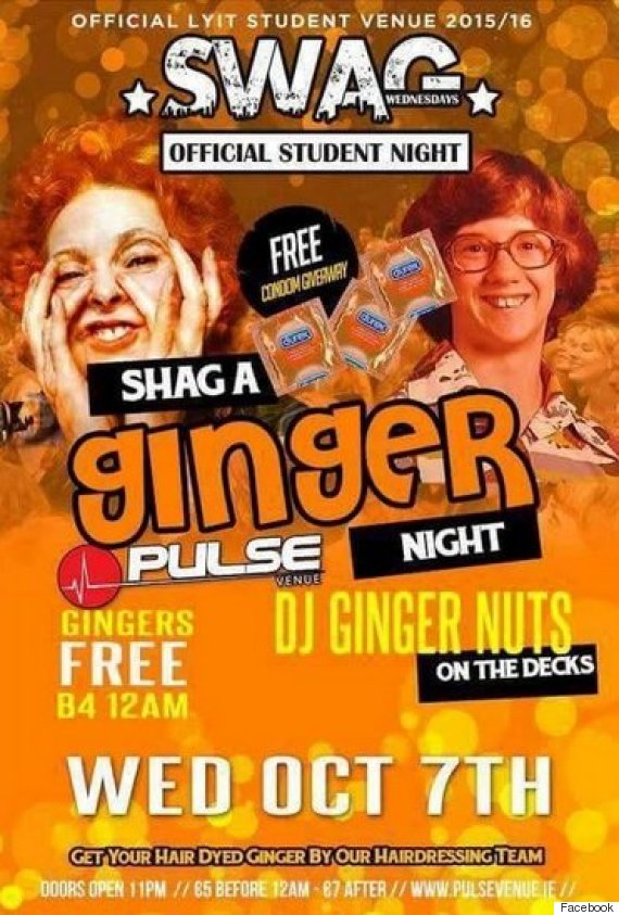 student ginger night