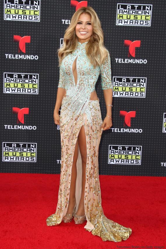 Los Mejores Y Peores Vestidos De Los Latin American Music