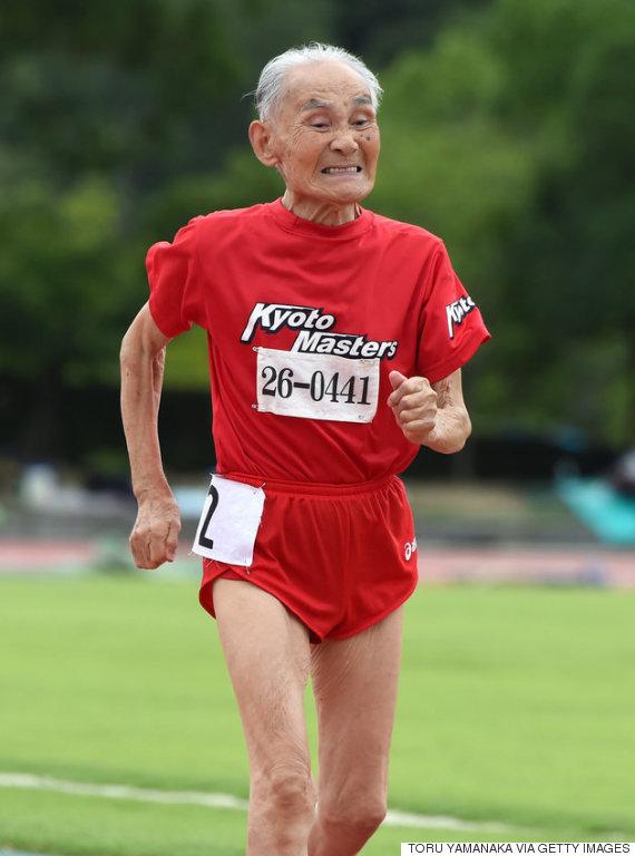 corredor de maratonas