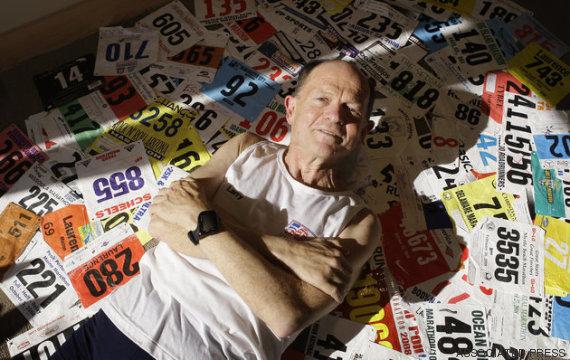 o homem que correu mais maratonas