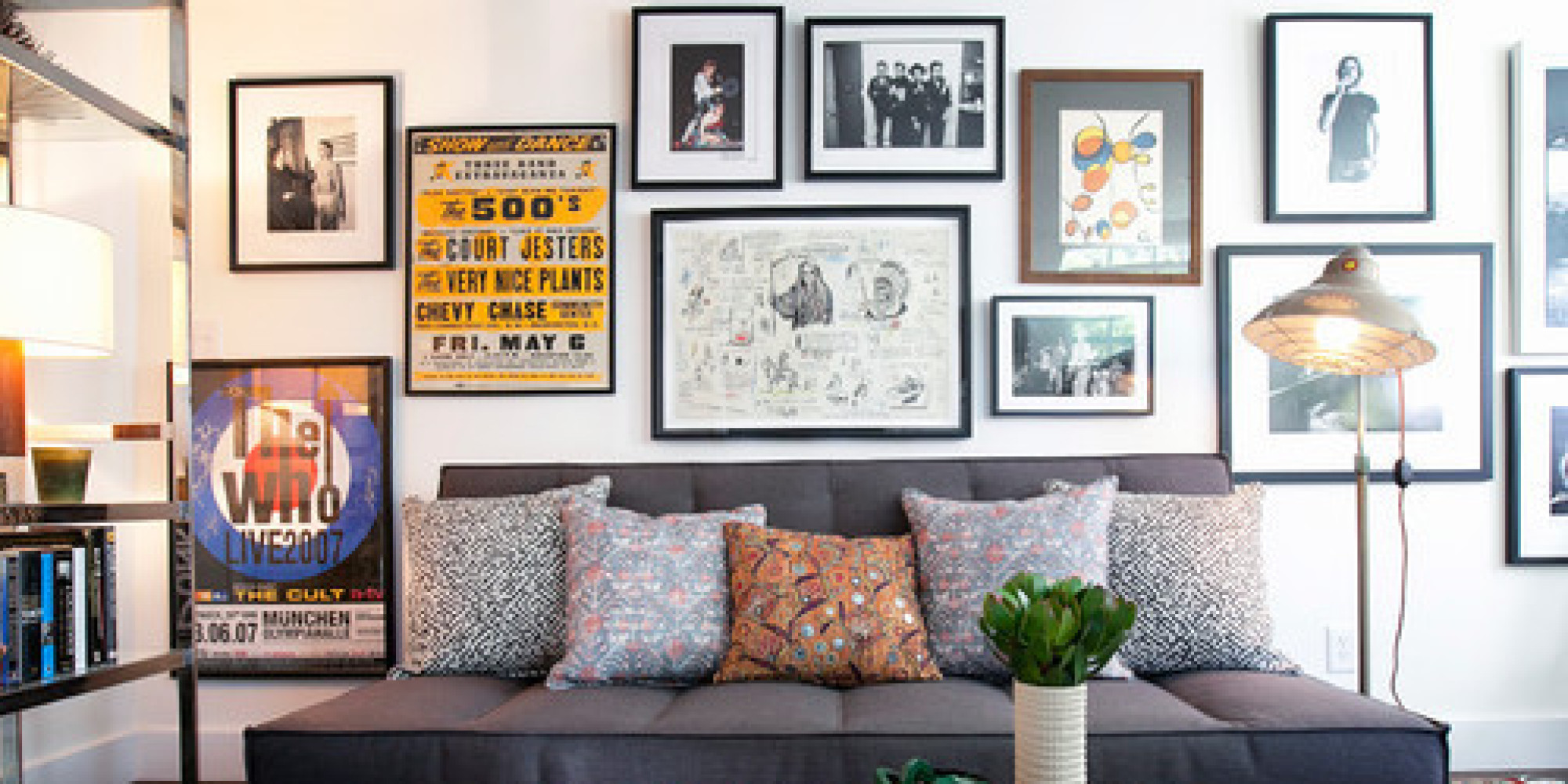 Gallery Walls how to create the perfect gallery wall | huffpost