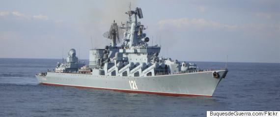moskva cruiser