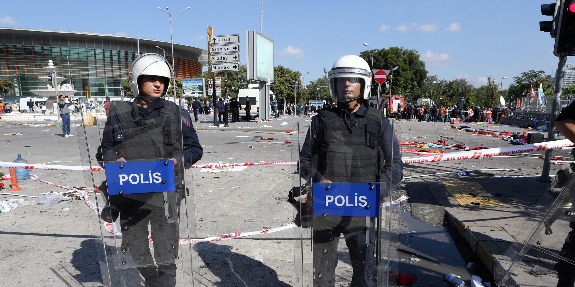 Attentat Facebook: Ankara, La Capitale De La Turquie, Frappée Par L'attentat