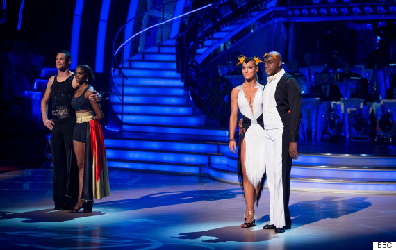 anthony ogogo ainsley harriott strictly