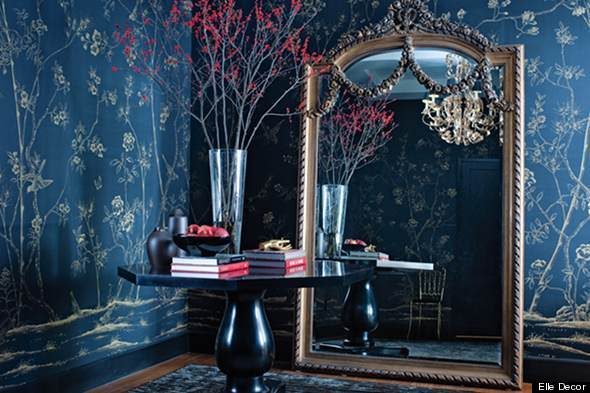 Color Diary: Decorating Blue and White Rooms (VIDEO ...