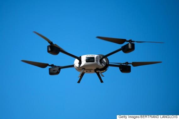 drone fire