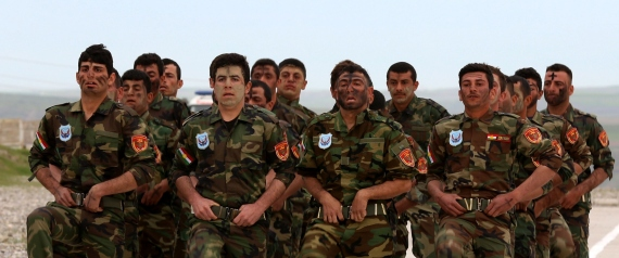 TRAINING SYRIAN KURDS