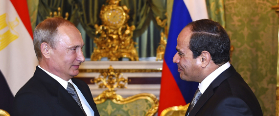 EGYPT AND RUSIA