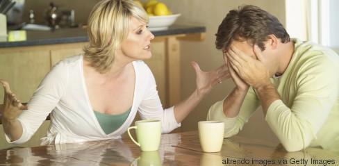 kitchen argument man woman