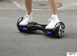 Le «hoverboard» est interdit dans la rue