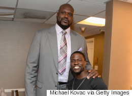 That Awkward Moment When Shaquille O'Neal Met Kevin Hart