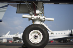 File image of plane's wheel | Pic: Getty Images