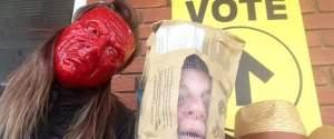 Vote Visage Couvert