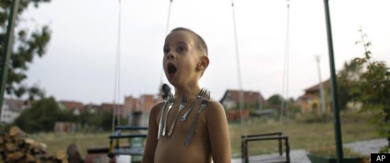 Serbian Magnet Boy