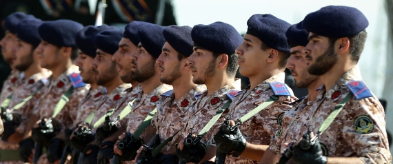 IRANIAN MILITARY FORCES