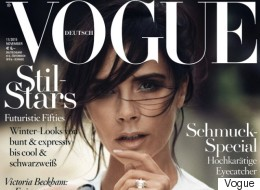 Victoria Beckham's Ring Worthy Of A Vogue Front Cover