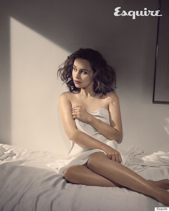 Game Of Thrones Actress Emilia Clarke Named Sexiest