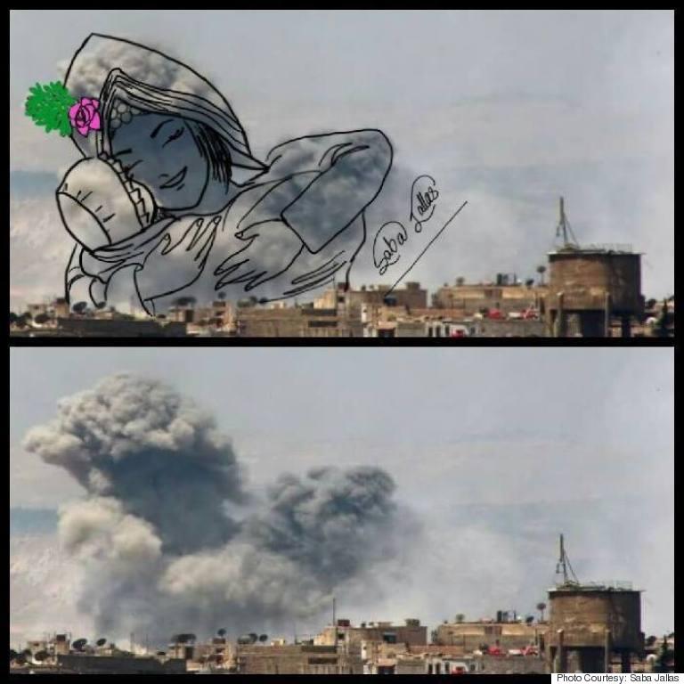 Yemeni Artist Turns War Smoke Into Art | HuffPost