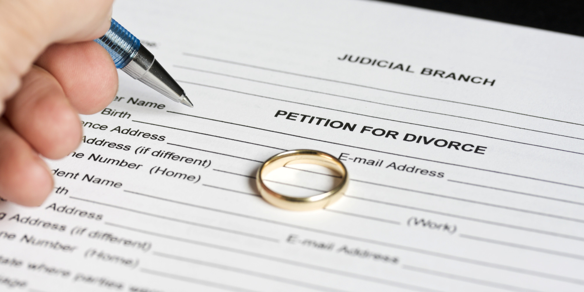 what happens after being served divorce papers