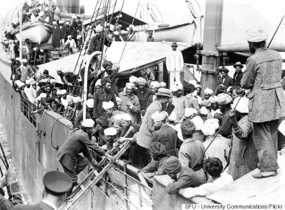 komagata maru Sikh passengers on board the komagata maru, 1914 the passengers set sail for canada with the intent of defying strict immigration laws and finding a new home and.