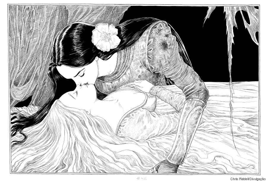 a bela e a adormecida