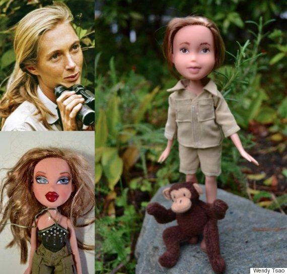 jane goodall doll