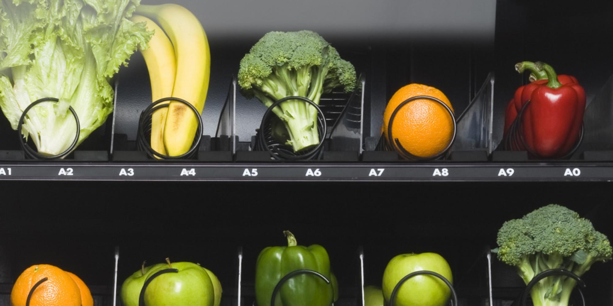 healthy vending machine options