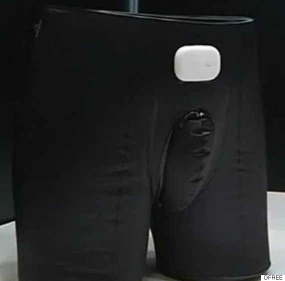 Japanese company makes smart pants device to help elderly by telling it's toilet time