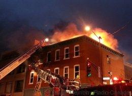 Incendie majeur dans un immeuble du quartier Montcalm