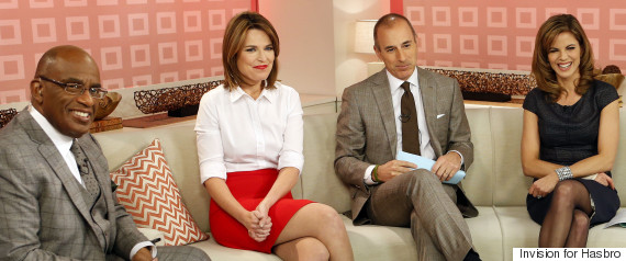 today show hosts guthrie lauer morales roker
