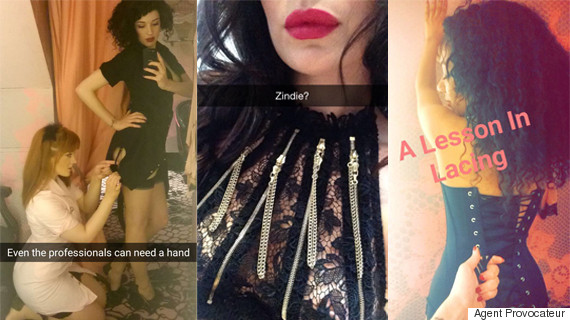 agent provocateur snapchat shows a day in the life of their 39 shop girls 39. Black Bedroom Furniture Sets. Home Design Ideas