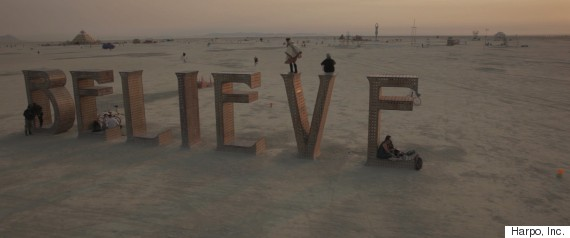 belief burning man