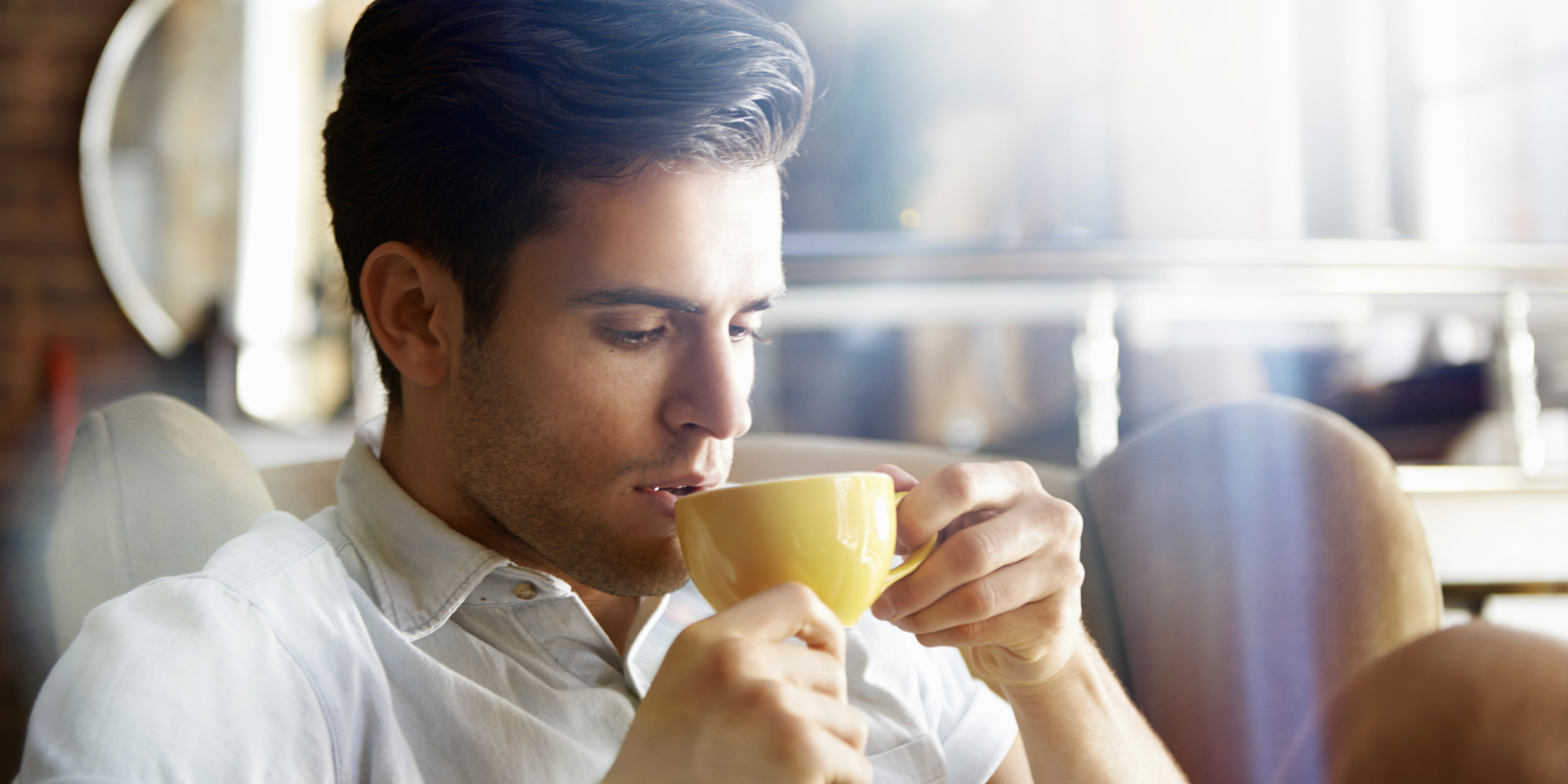 Man Drinking Coffee - Coffee Drinker